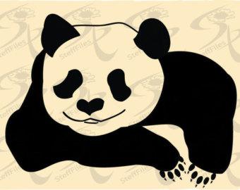 Minor Panda svg #10, Download drawings