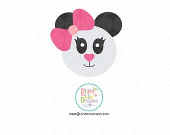 Minor Panda svg #1, Download drawings