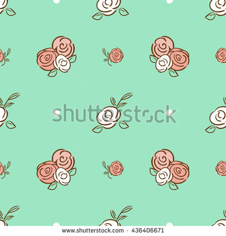 Mint-colored Roller clipart #1, Download drawings