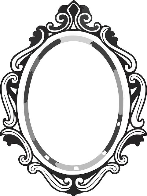 Mirror clipart #9, Download drawings