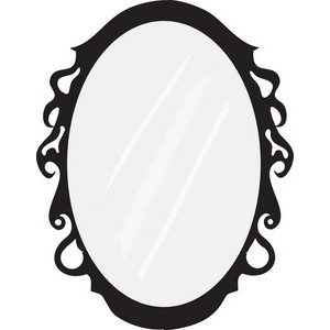 Mirror clipart #11, Download drawings