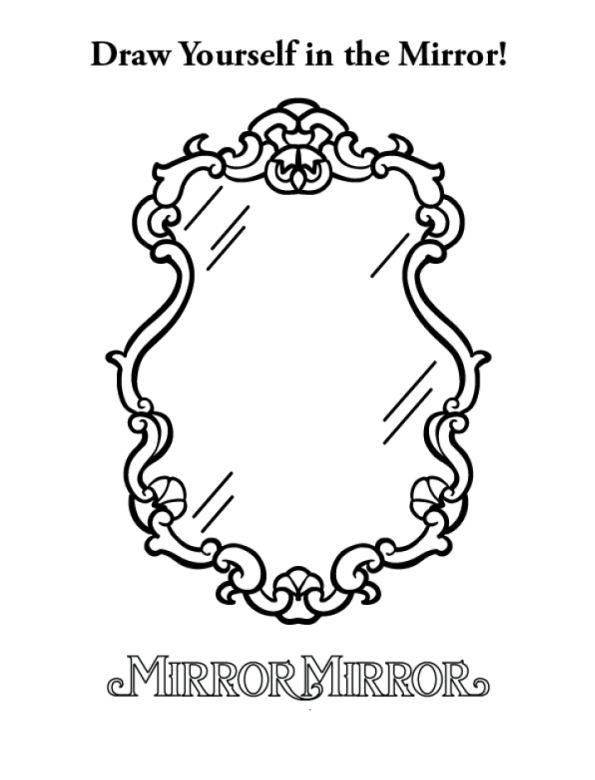 Mirror coloring #3, Download drawings