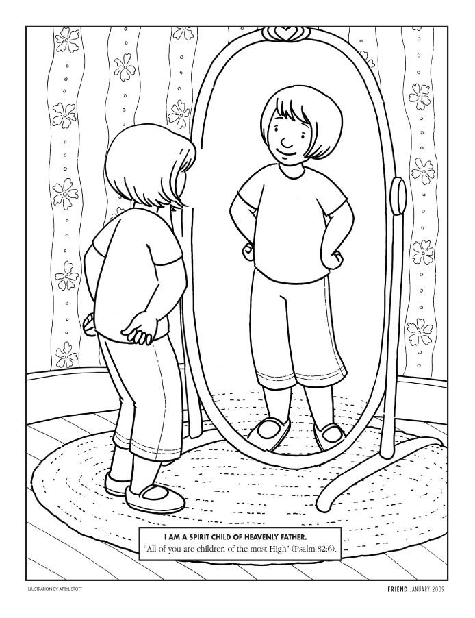 Mirror coloring #19, Download drawings