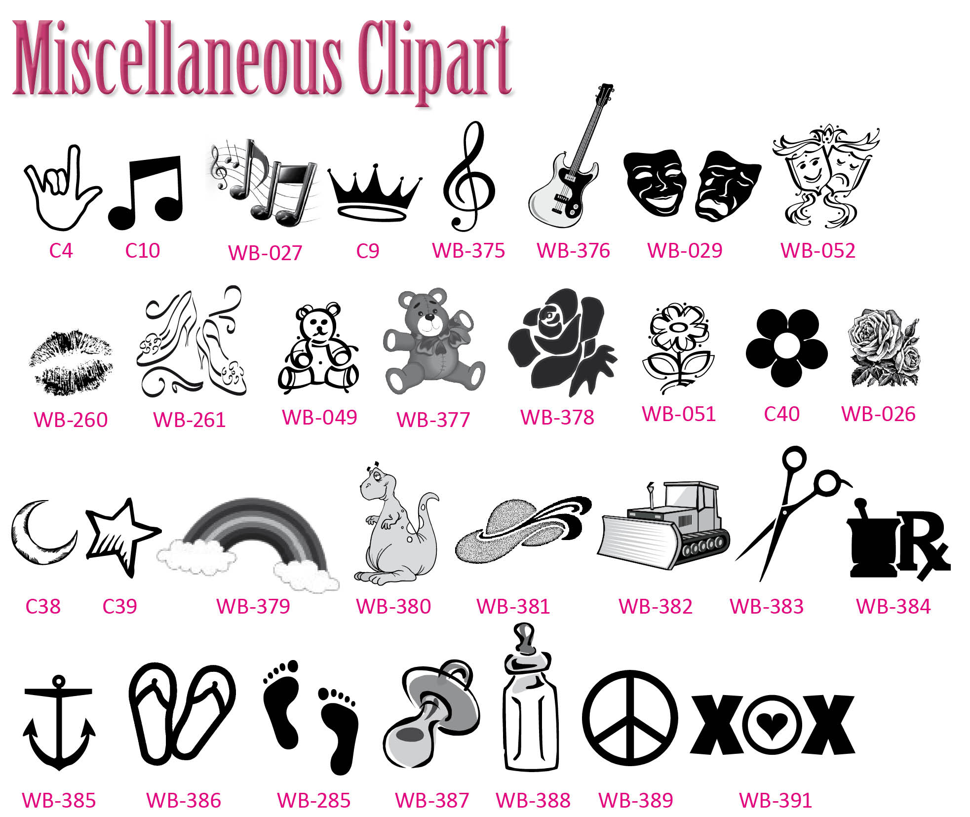 Misc clipart #4, Download drawings