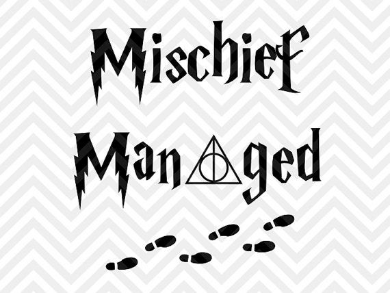 mischief managed svg #941, Download drawings