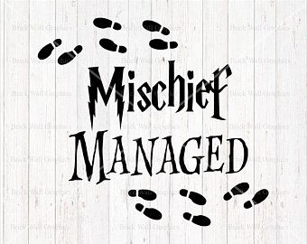 mischief managed svg #937, Download drawings