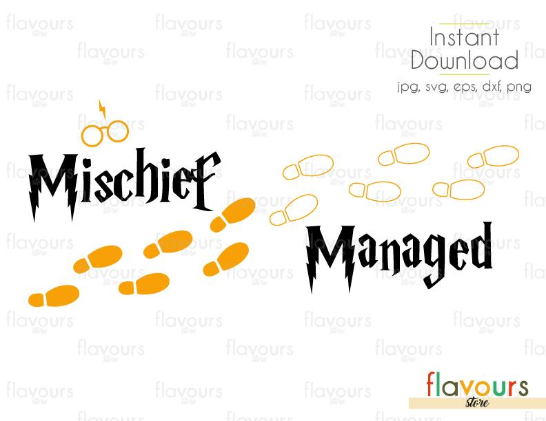 mischief managed svg #940, Download drawings