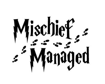 mischief managed svg #942, Download drawings