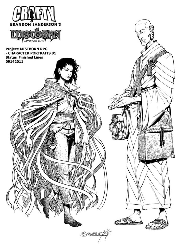 Mistborn coloring #9, Download drawings