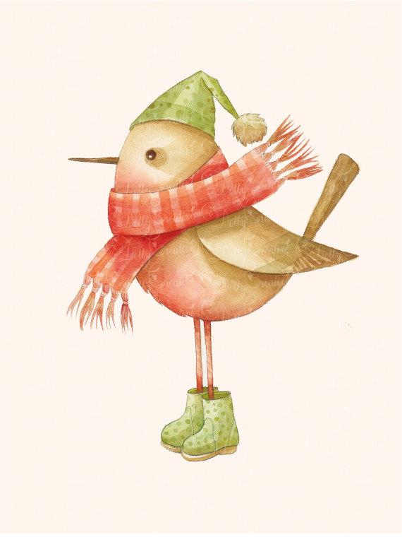 Mistletoe Bird clipart #12, Download drawings