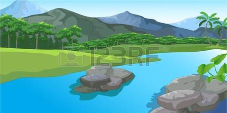 Mist.river clipart #3, Download drawings