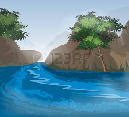 Mist.river clipart #7, Download drawings
