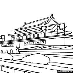 Misty China coloring #10, Download drawings