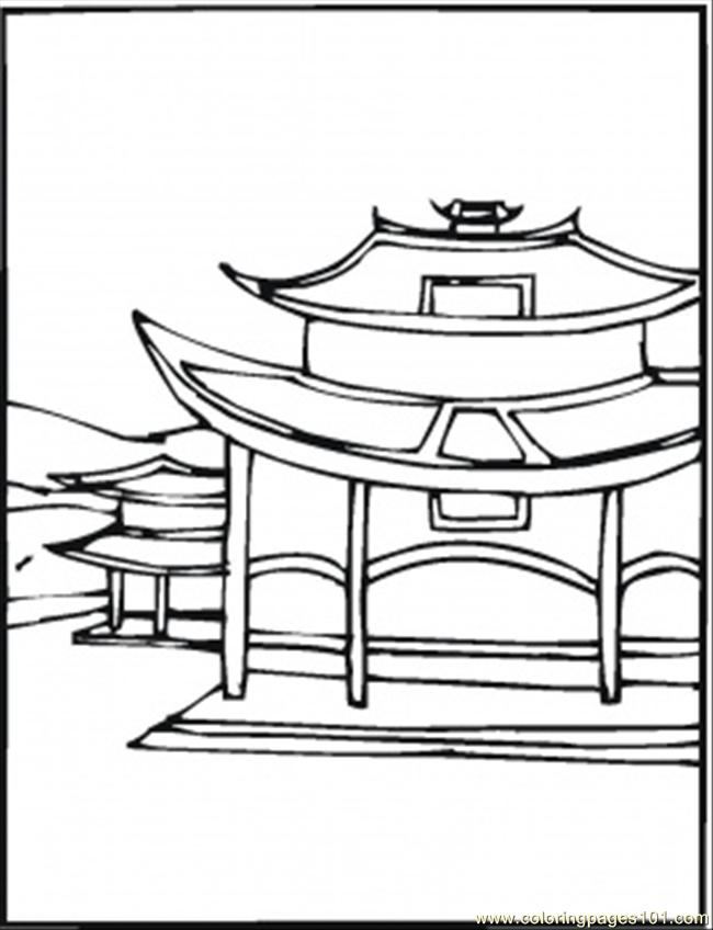 Misty China coloring #14, Download drawings