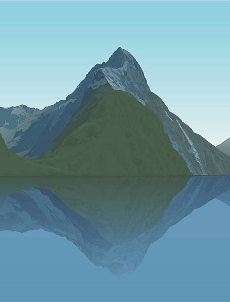 Mitre Peak clipart #20, Download drawings