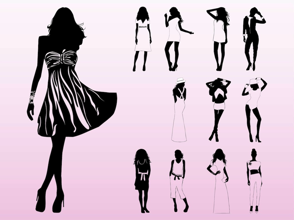 Model clipart #19, Download drawings