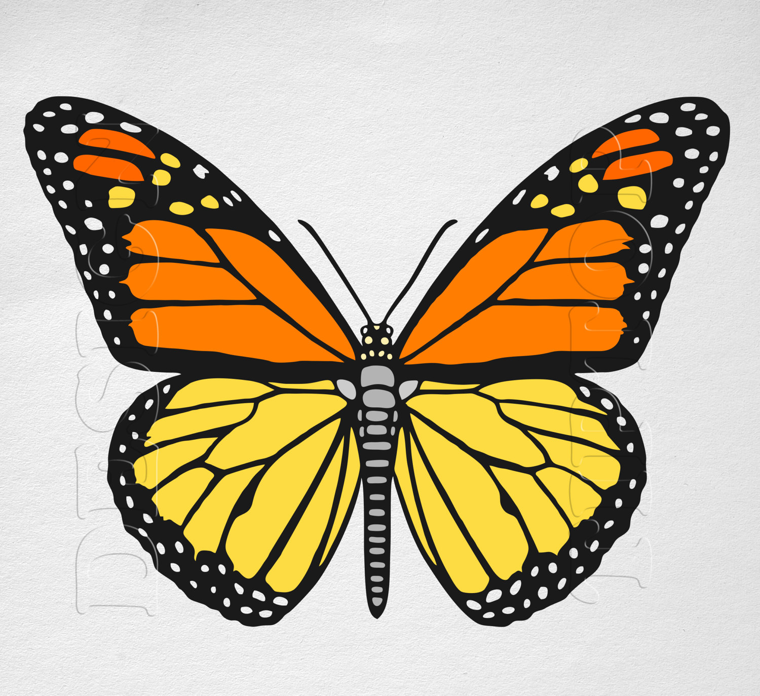 Monarch Butterfly svg, Download Monarch Butterfly svg for ...
