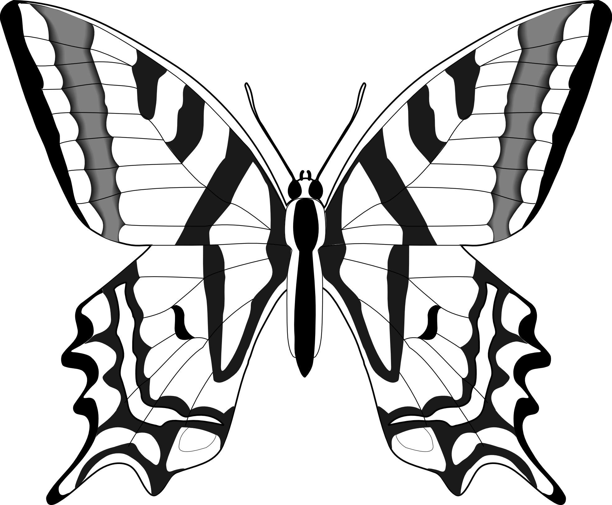 Monarch Butterfly svg #1, Download drawings