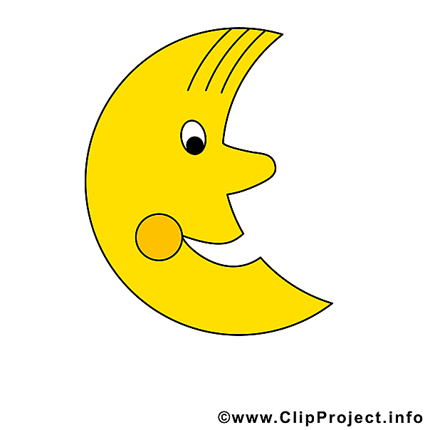 Mond clipart #2, Download drawings
