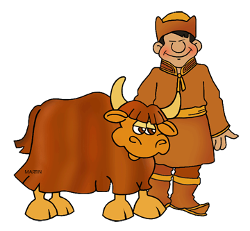 Mongolian clipart #3, Download drawings