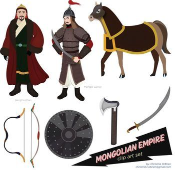 Mongolian clipart #9, Download drawings