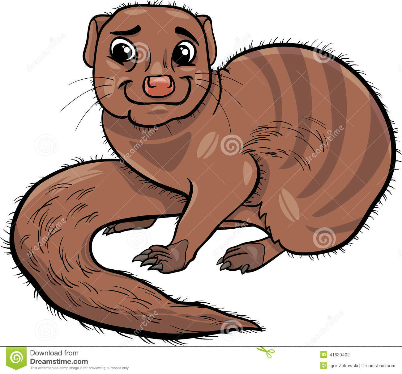 Mongoose clipart #17, Download drawings