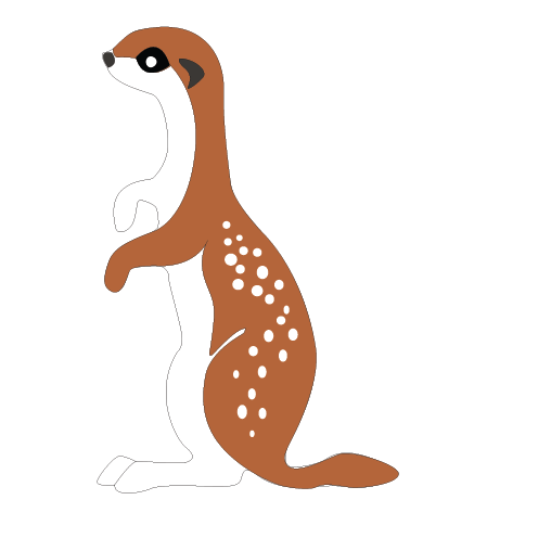 Mongoose clipart #9, Download drawings