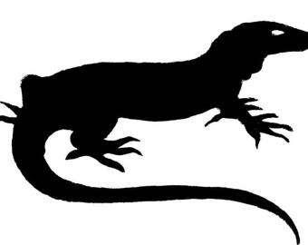 Monitor Lizard svg #12, Download drawings