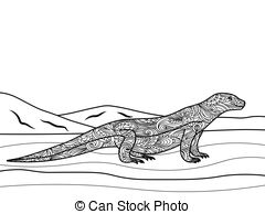 Monitor Lizard clipart #19, Download drawings