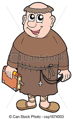 Monk clipart #14, Download drawings