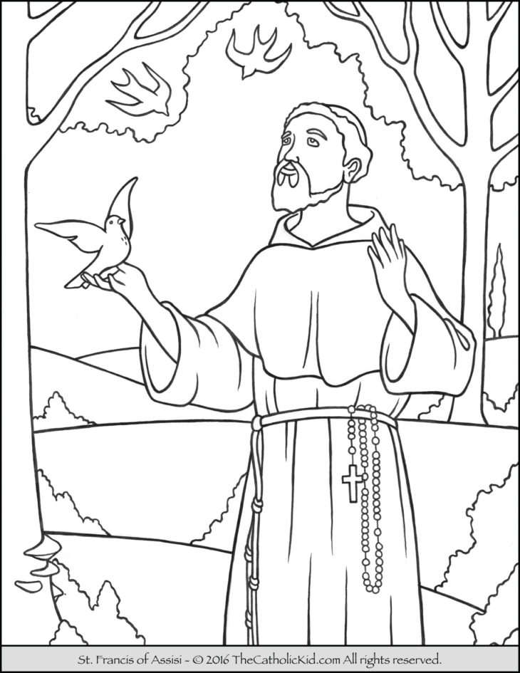 Monk coloring #8, Download drawings