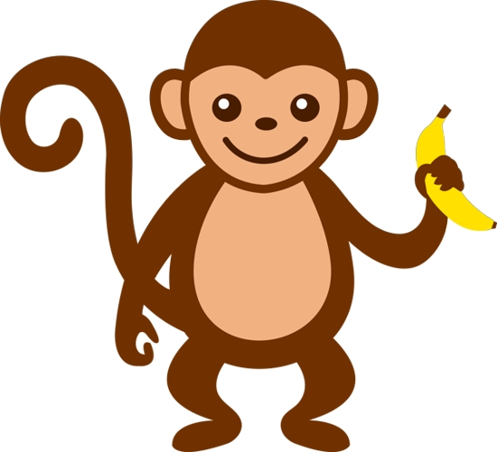 Monkey clipart #19, Download drawings