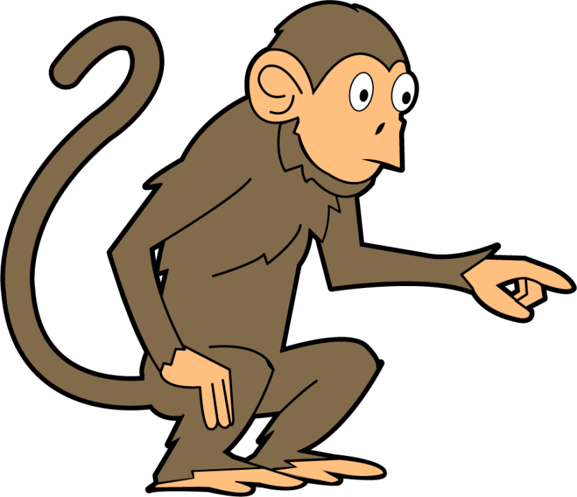 Monkey clipart #15, Download drawings