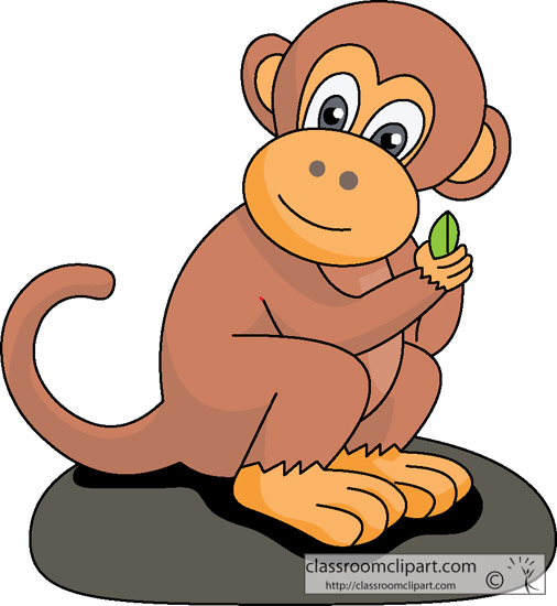 Monkey clipart #8, Download drawings