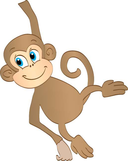 Monkey clipart #14, Download drawings