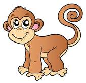 Monkey clipart #12, Download drawings