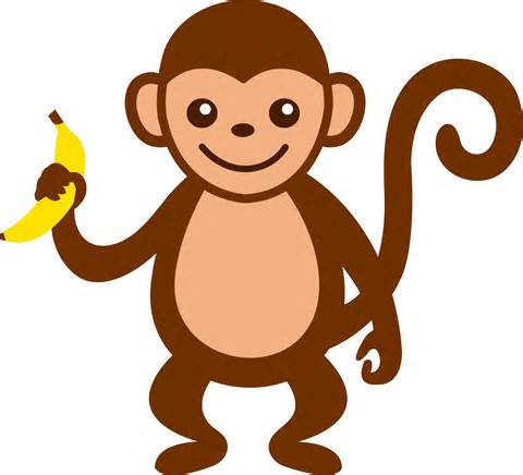Monkey clipart #18, Download drawings