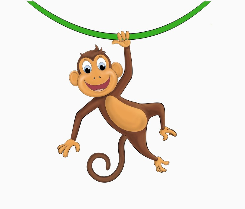 Monkey clipart #6, Download drawings