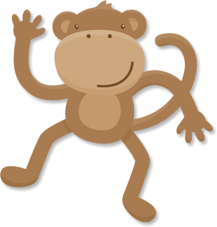 Monkey svg #322, Download drawings