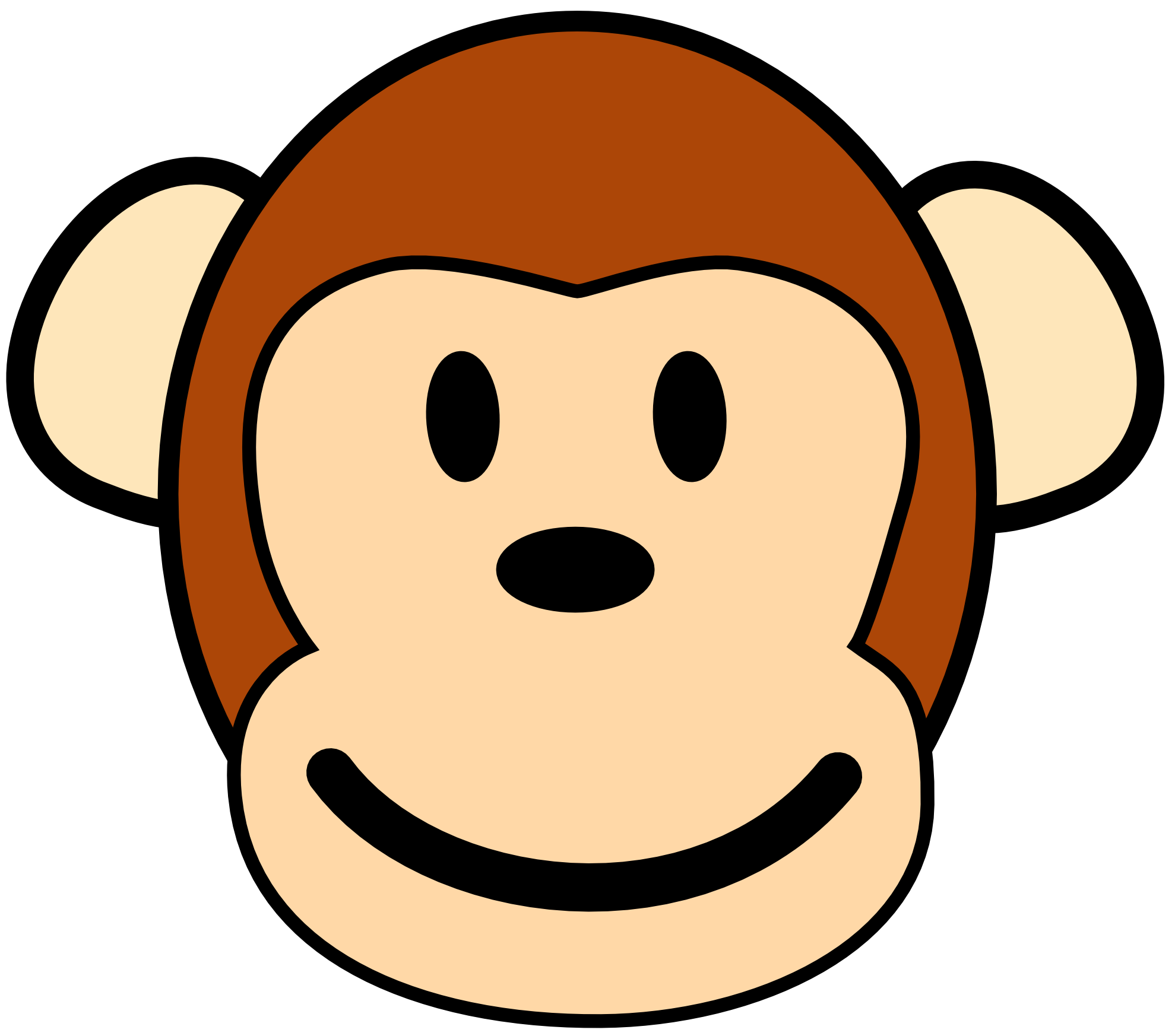Monkey svg #5, Download drawings
