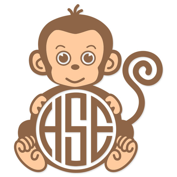 Monkey svg #2, Download drawings