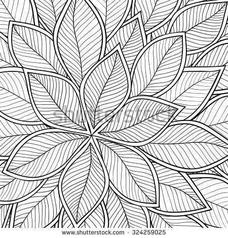 Monochrome coloring #11, Download drawings
