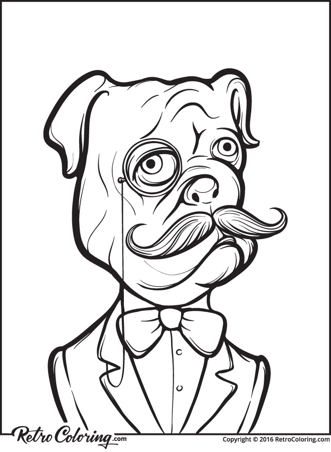 Monocle coloring #1, Download drawings