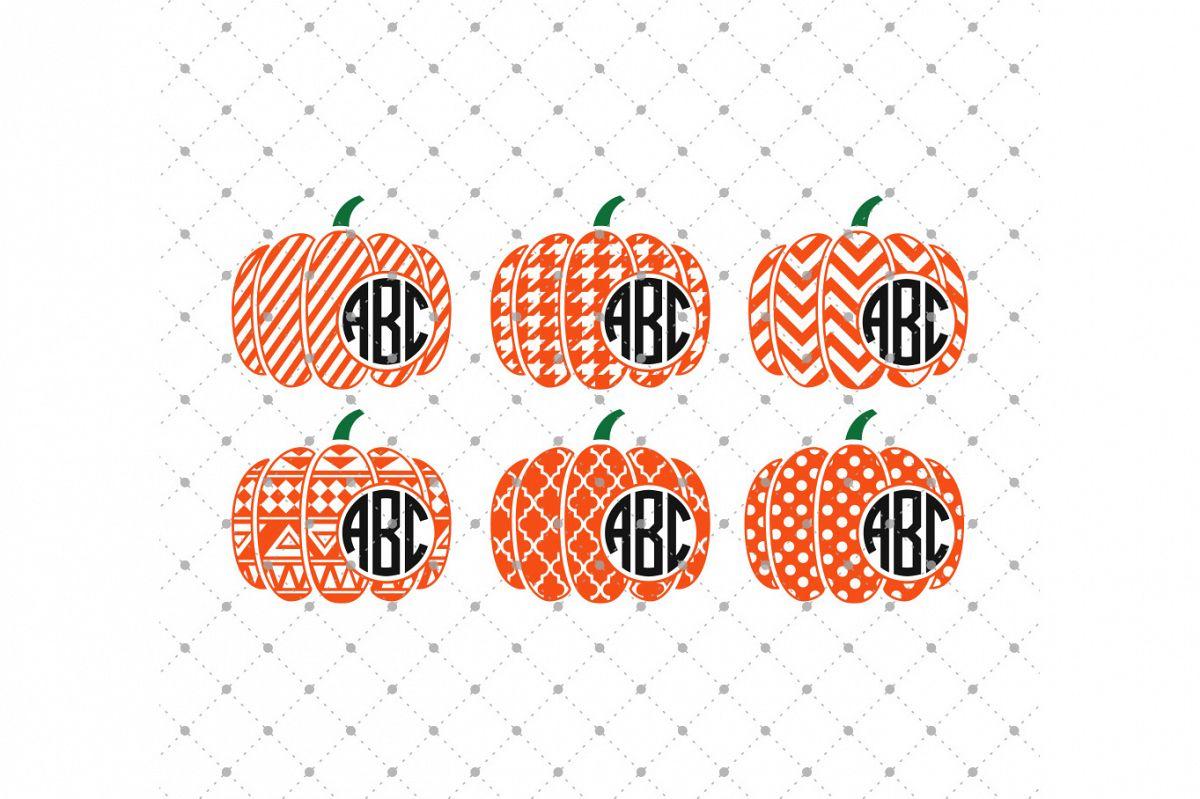 monogram pumpkin svg #762, Download drawings