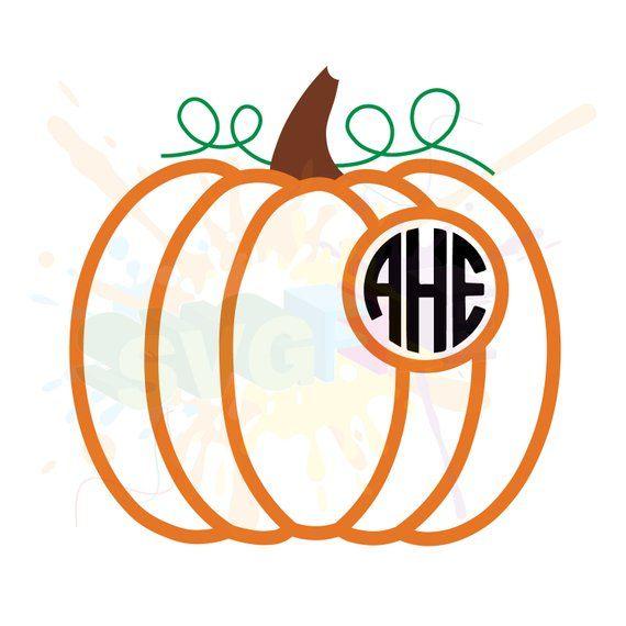 monogram pumpkin svg #758, Download drawings