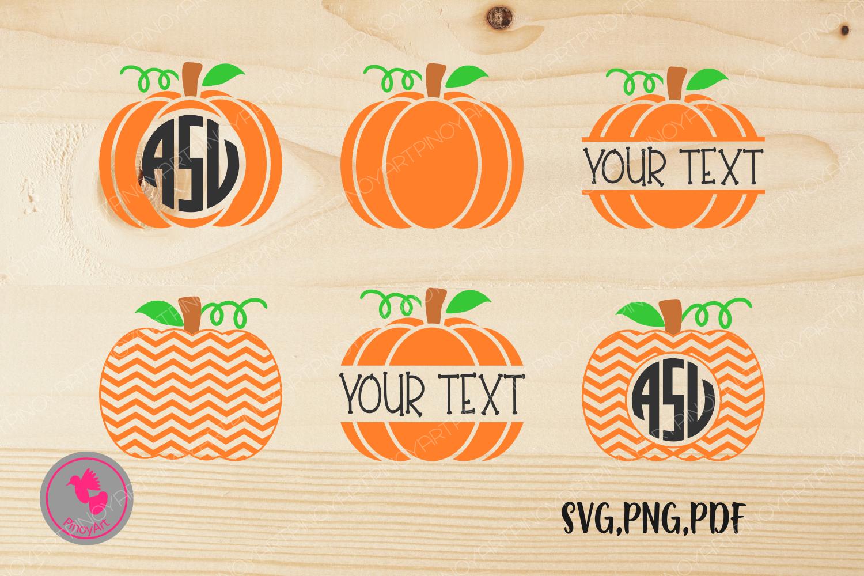 monogram pumpkin svg #755, Download drawings