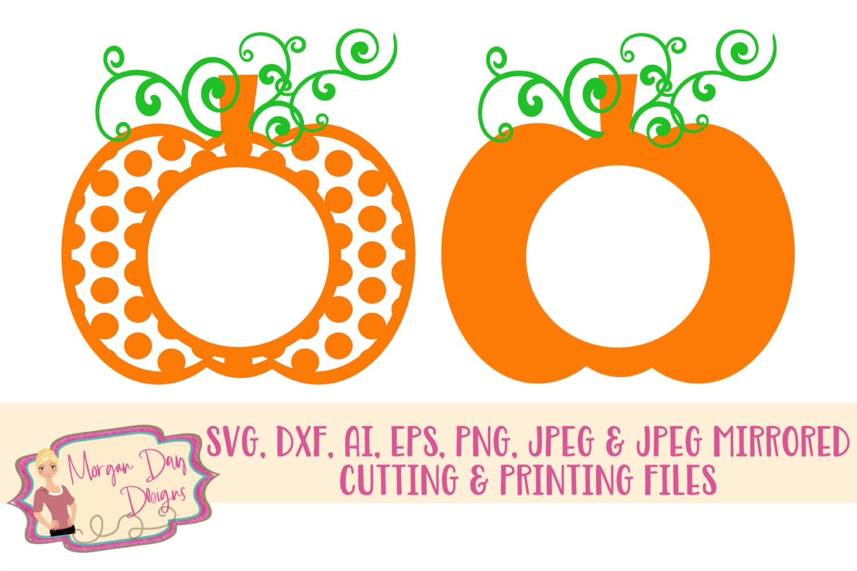 monogram pumpkin svg #757, Download drawings