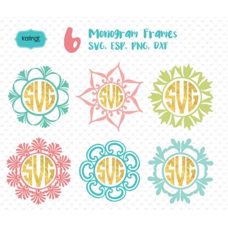 monogram svg files #338, Download drawings