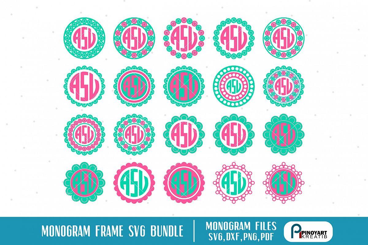 monogram svg files #337, Download drawings