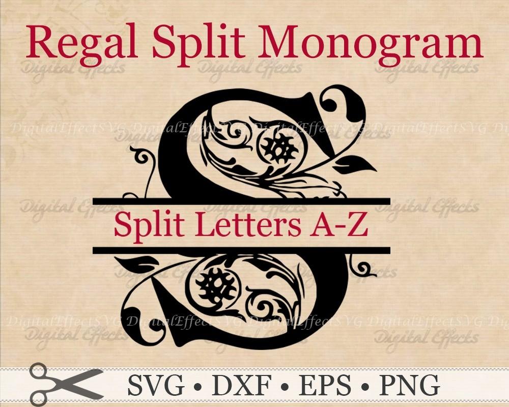 monogram svg files #331, Download drawings